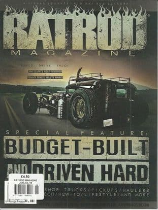 Rat Rod Magazine - Issue 049 / J-July.18